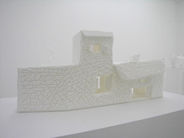 résine (stereolitho), dimensions variables, oeuvres uniques
