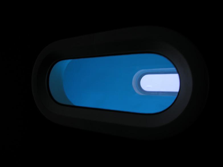 2006, hublots, plexi, neons germicides, dimensions variables, oeuvre unique