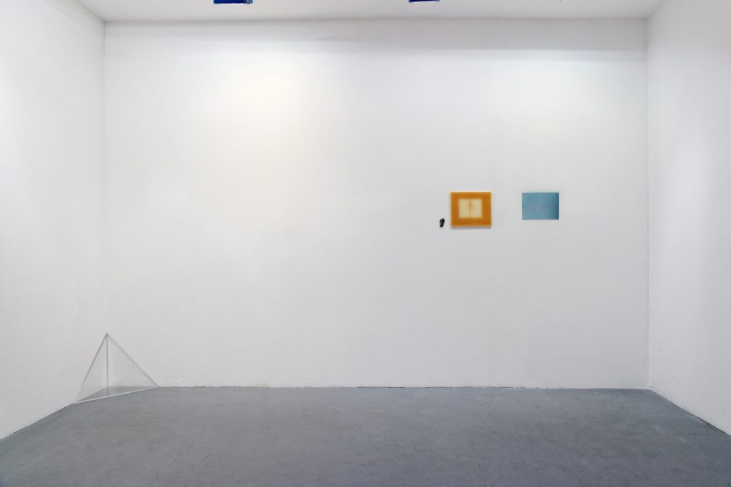 2011, fossil, exposed wax, unfixed photosensitive paper, dimensions variable