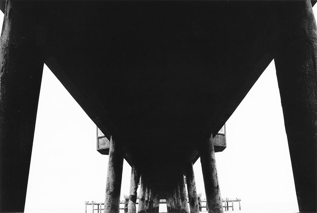 2002, b/w photo mounted on aluminium, 40 x 60 cm, unique work