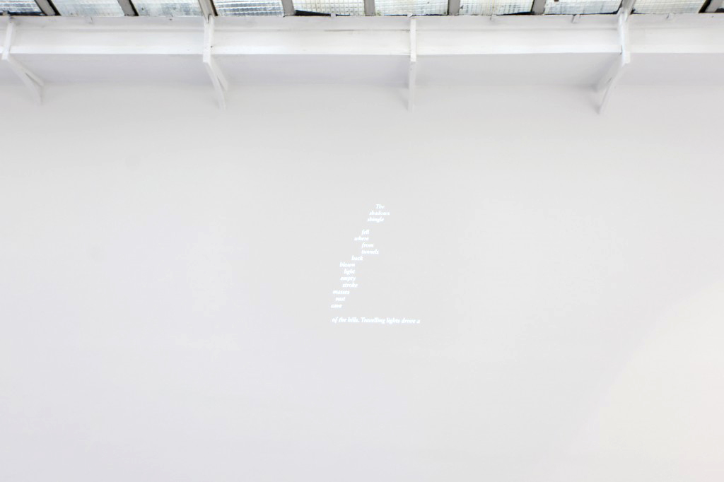 2012, animation, digital file, B/W, silent, 24 hours in loop, unique work