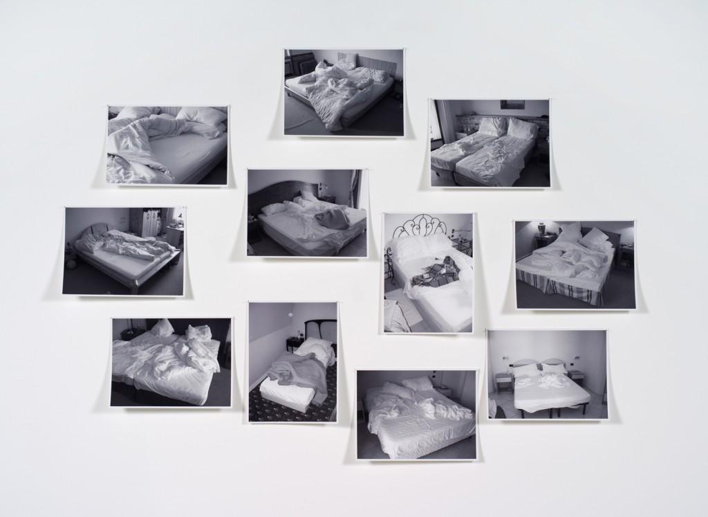 11 b/w photos, 20 x 30 cm each, 90 x 185 cm the set