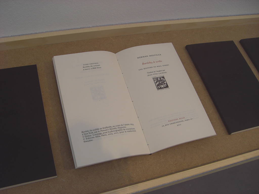 2010-2012, ensemble de 48 livres de 96 pages, 9,5 x 17 cm chacun, édition de 5 exemplaires