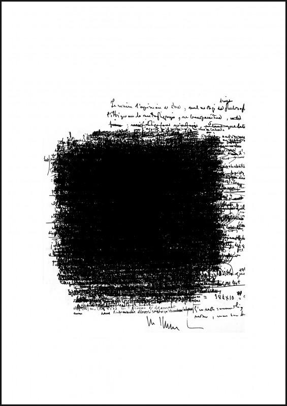 2010, sérigraphie sur papier, 47 x 36 cm chacune, oeuvre unique