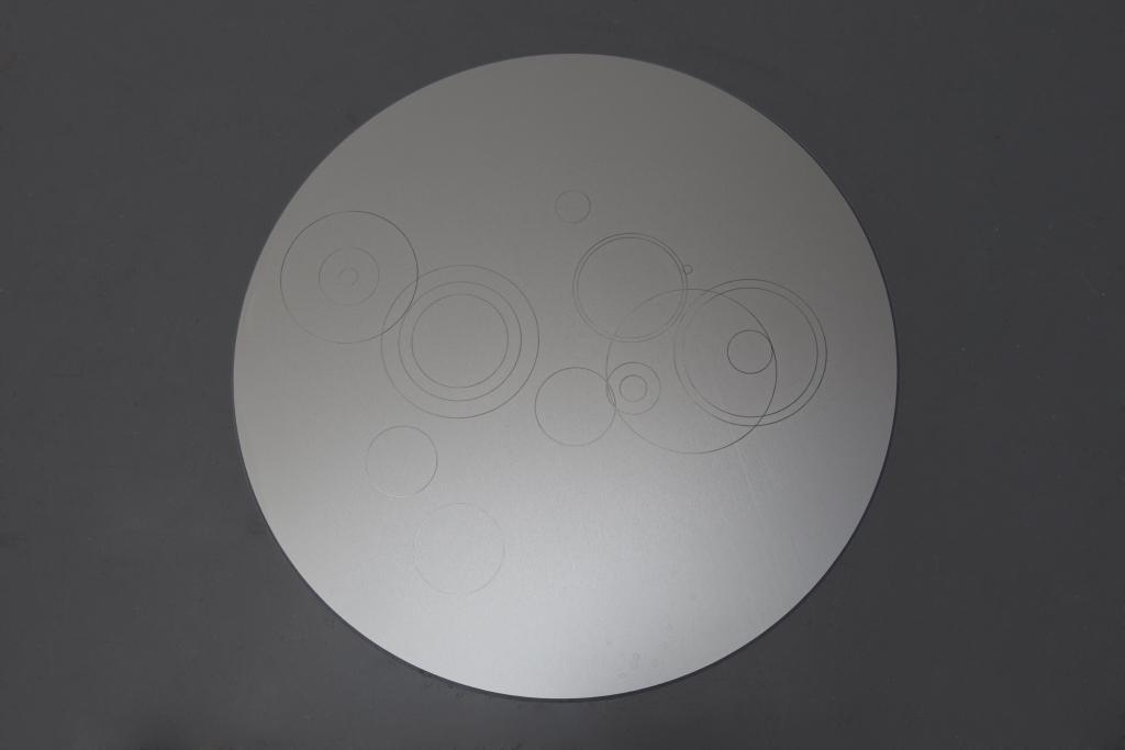 2014, aluminium, Ø 75 cm, unique work