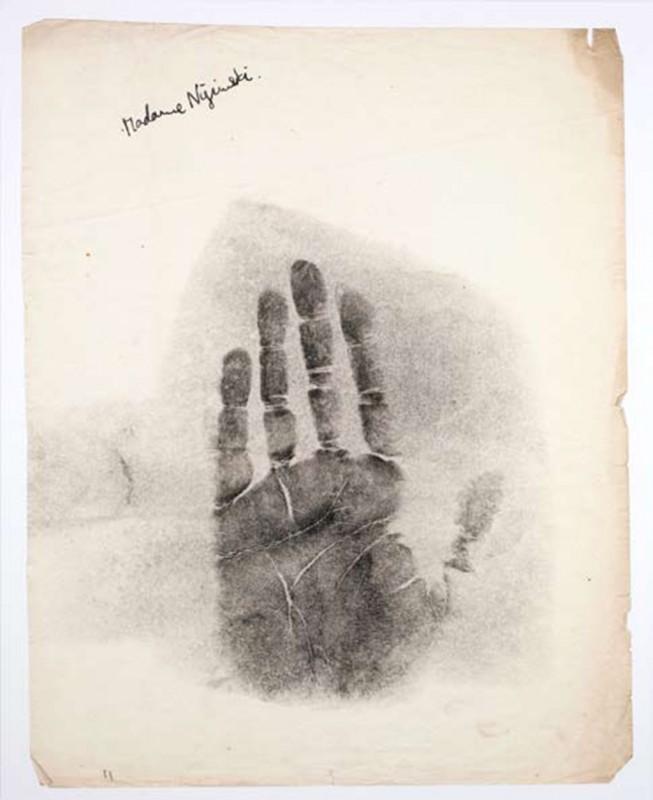 Madame Nijinski, print on paper, 75 x 60 cm