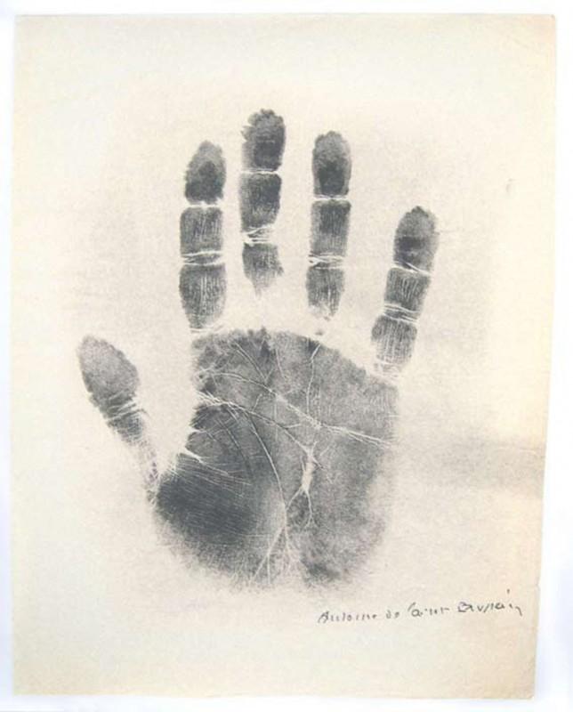 Antoine de Saint-Exupéry, print on paper, 75 x 60 cm