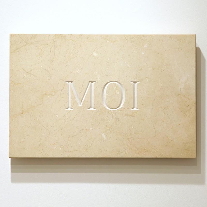 marble, 40 x 60 x 3 cm