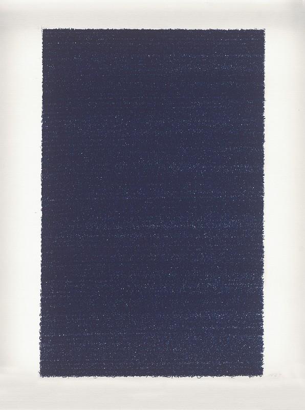 2012, dessin sur papier carbone, 40 x 30 cm, oeuvre unique