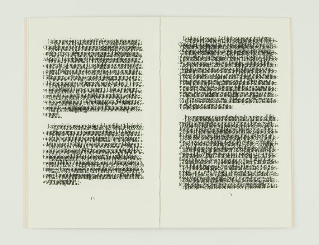 2007, édition cousue, 11,5 x 18,5 cm, 32 pages sérigraphiées sur papier vélin 120g, couverture sérigraphiée, édition de 60 exemplaires numérotés et signés