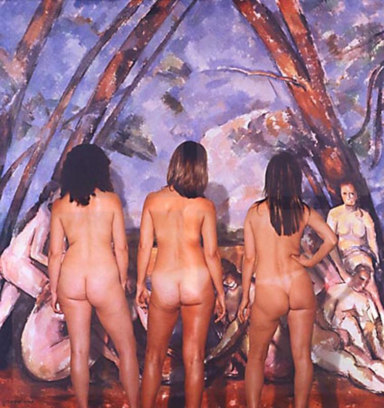 2003, color print on canvas, 183 x  193 x 8 cm, unique work