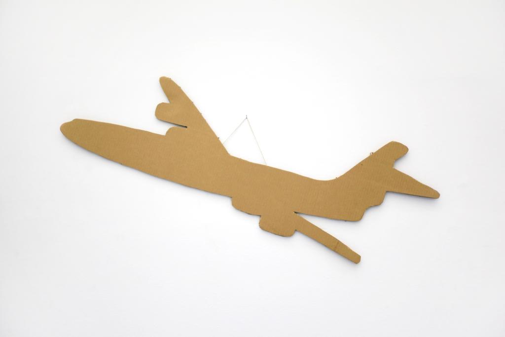 cardboard, 45 x 135 cm