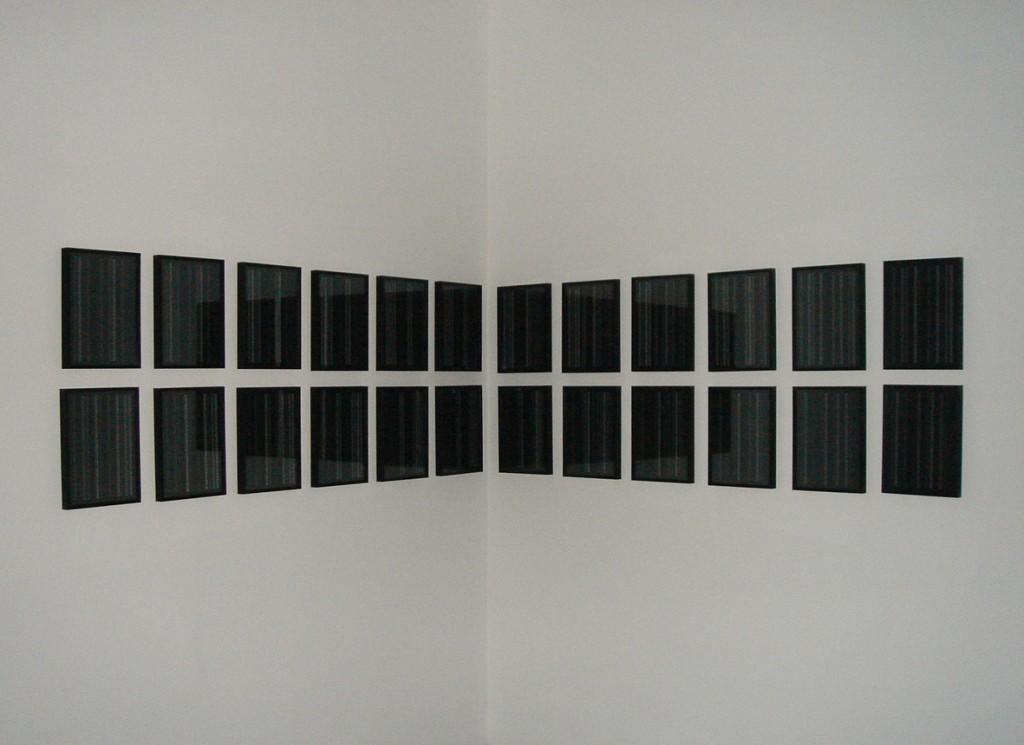 2007, inkjet on paper, set of 24 framed units, 32,5 x 23 cm each, unique work