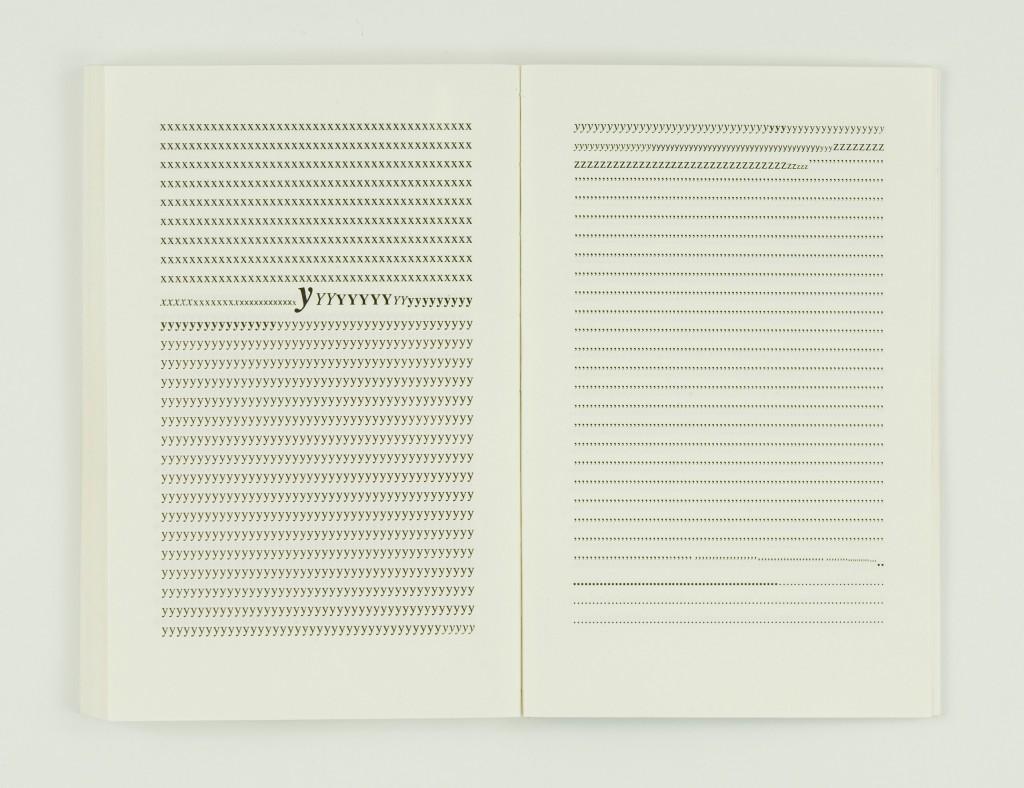 2009, édition brochée, 11,5 x 17,6 cm, 127 pages imprimées sur papier vélin 90g, couverture sérigraphiée, édition de 40 exemplaires numérotés et signés