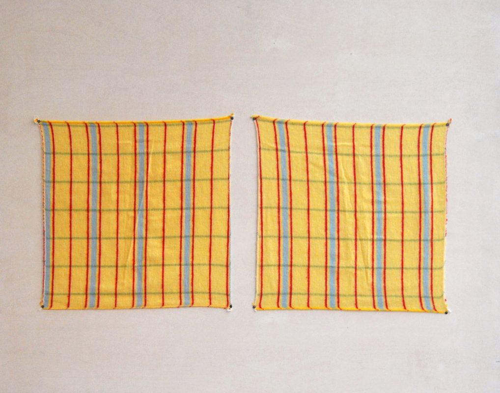 2 kitchen towels, 70 x 90 cm