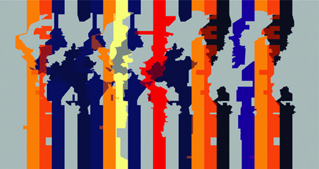 2008, color photo mounted on aluminium, 60 x 113,2 cm, unique work