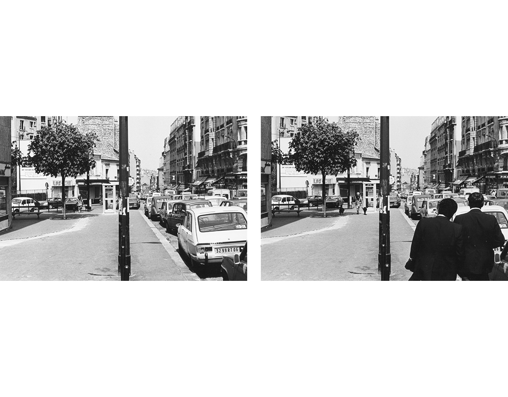 1978, b/w photograph, diptych, 40 x 60 cm, edition of 10