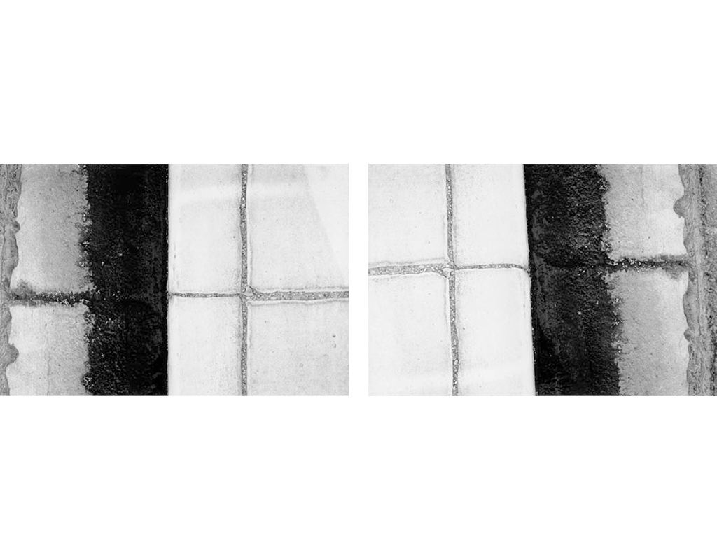 2002, b/w photograph, diptych, 40 x 60 cm, edition of 10