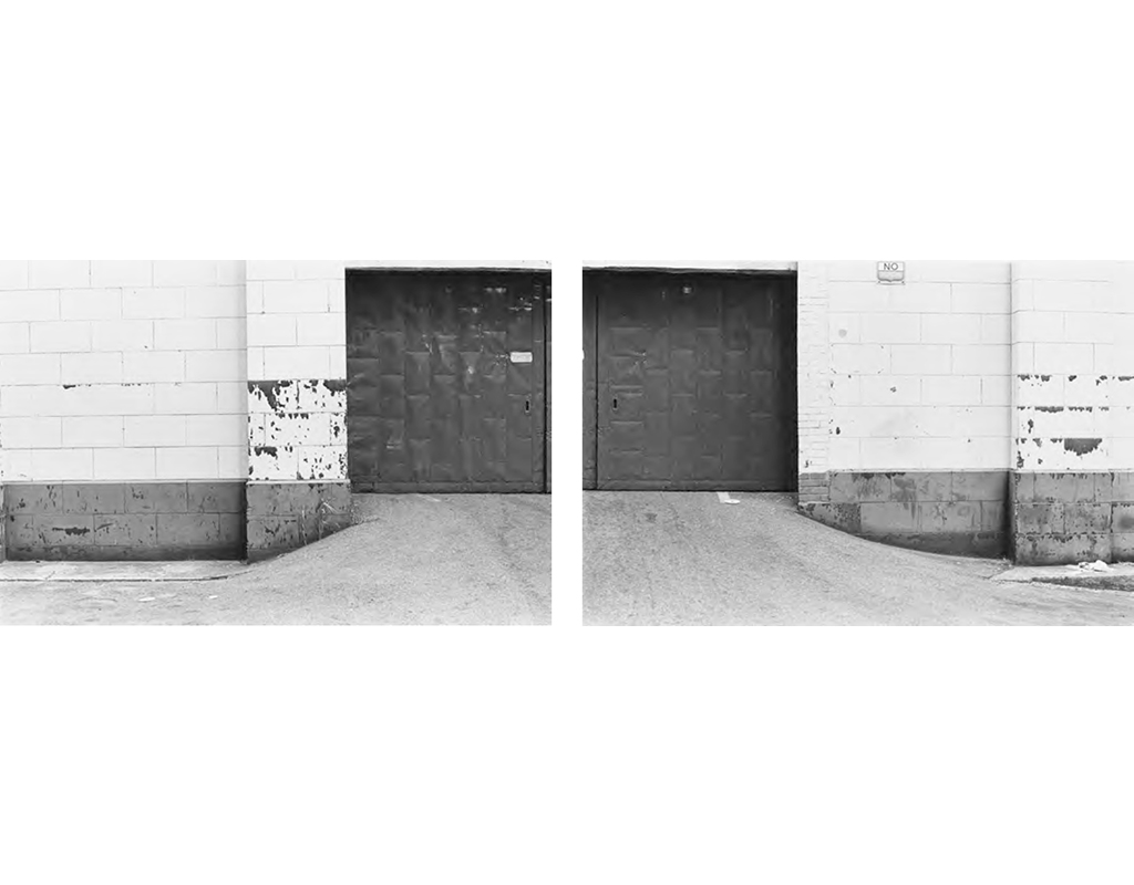 1979, b/w photograph, diptych, 40 x 60 cm, edition of 10