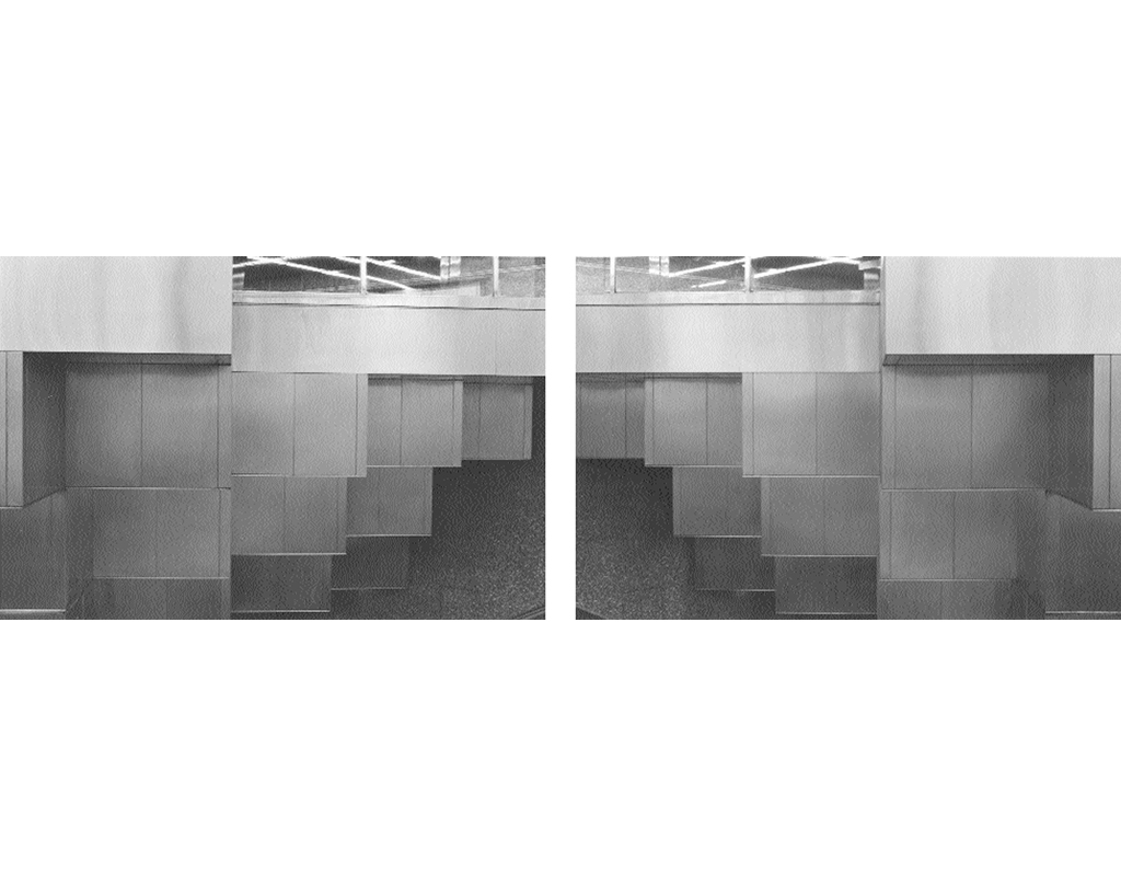 1981, b/w photograph, diptych, 40 x 60 cm, edition of 10