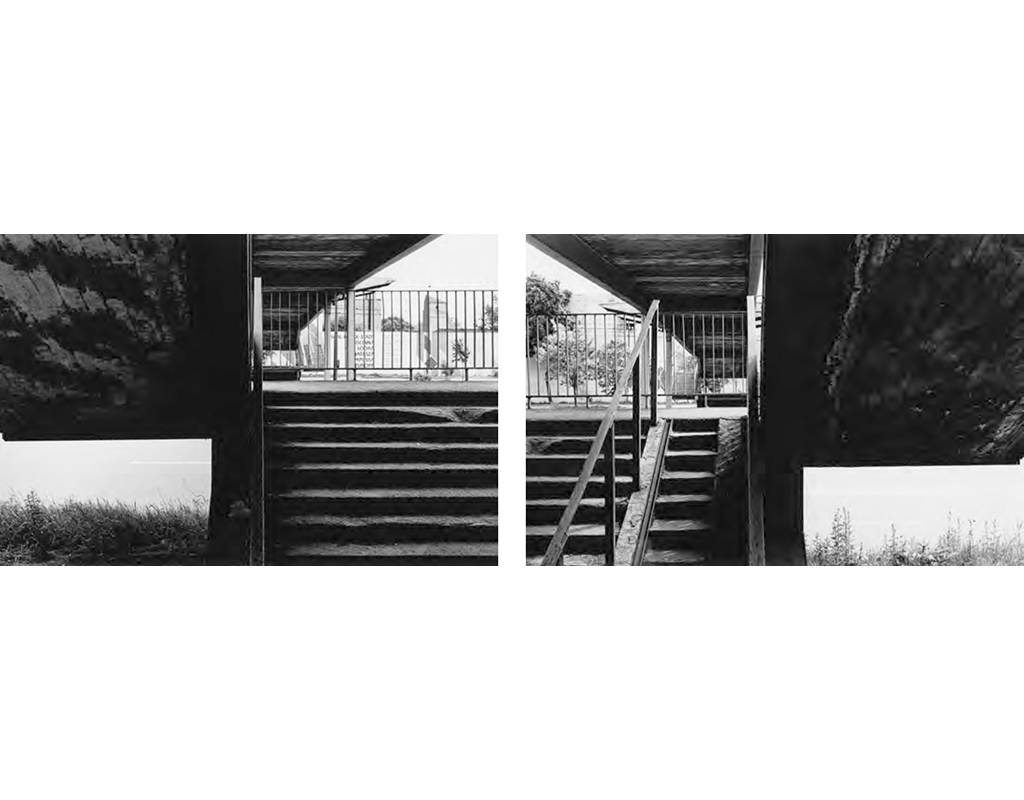 1986, b/w photograph, diptych, 40 x 60 cm, edition of 10