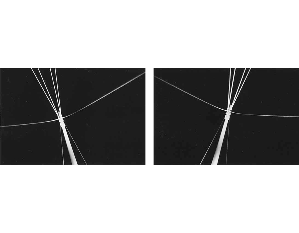 1989, b/w photograph, diptych, 40 x 60 cm, edition of 10