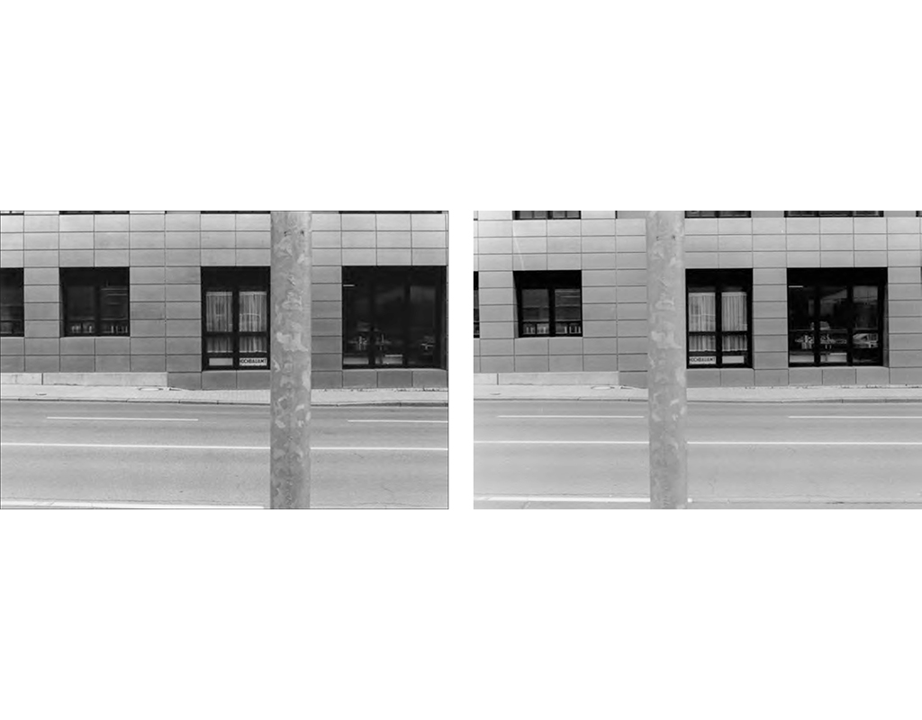 1995, b/w photograph, diptych, 40 x 60 cm, edition of 10