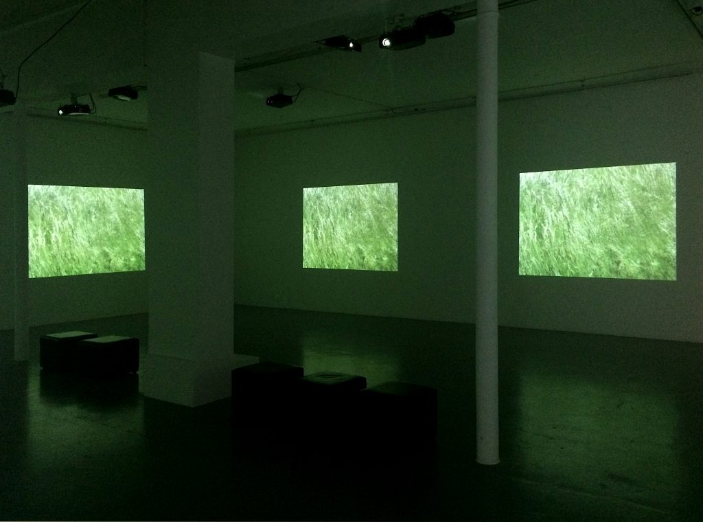 2002 – 2015, seven channel video installation color + audio file, 50 min 27 sec in loop, edition of 4
