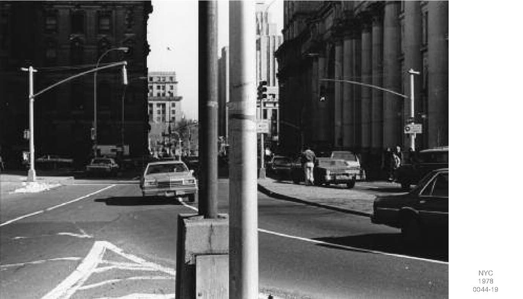 1978, New York City (0041-00), set of 7 b/w photographs, 33×43 cm, edition of 3 + 1 AP