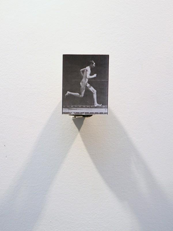 b/w photograph, motor, 15 x 12 x 5,5 cm