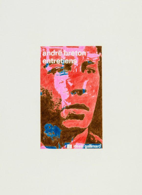 2016, crayons de couleur, 34,5 x 25,2 cm, oeuvre unique