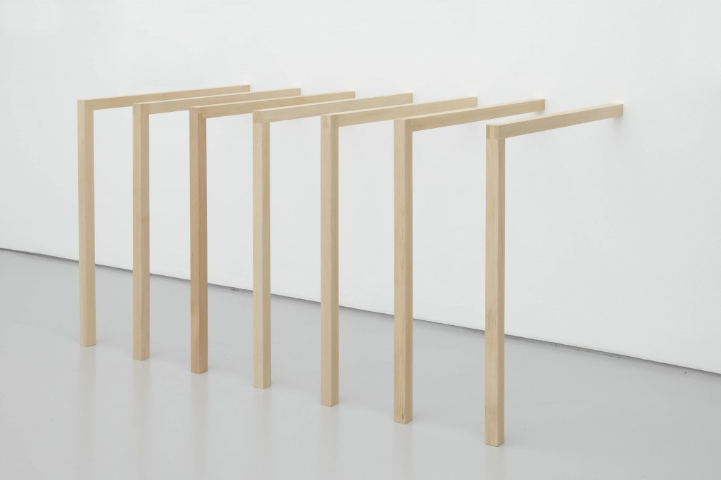 2014 wood  7 units 100 x 415 x 100 cm overall  unique work