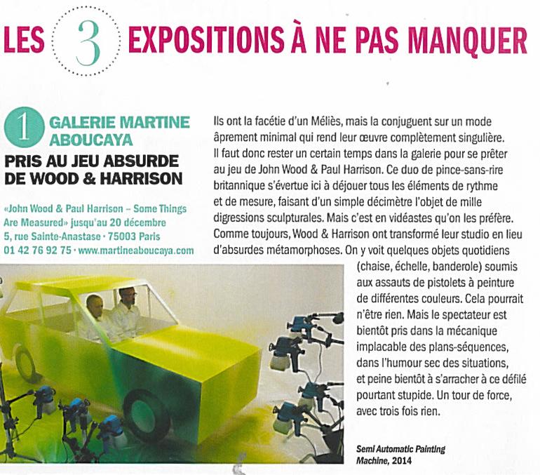 Par Emmanuelle Lequeux  paru sur Beaux Arts magazine n°366 (décembre 2014)