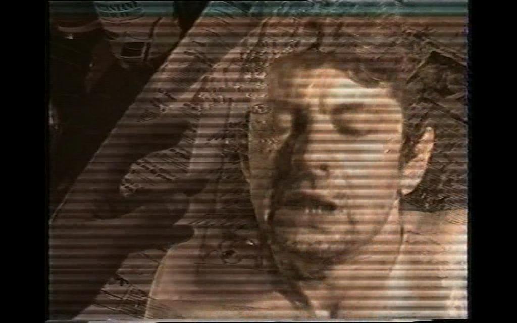 L'INCIDENT DU BOL RENVERSÉ 1993 installation de 4 vidéos 2'08'' édition de 5