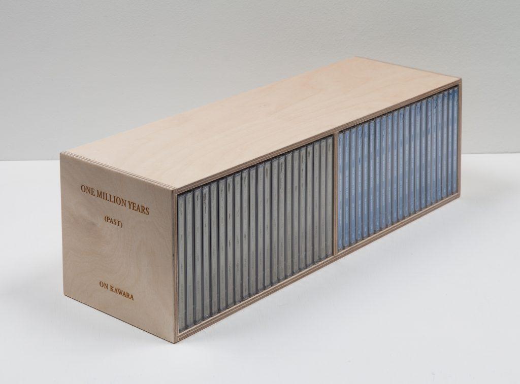 One Million Years (past and future) #124-144, 42  CD audio sous coffret en bois (Photo: Sylvie Chan-Liat)