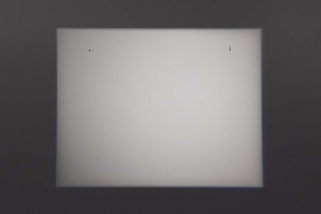 PAINTING OF LIGHT two-hook projector dimensions variable