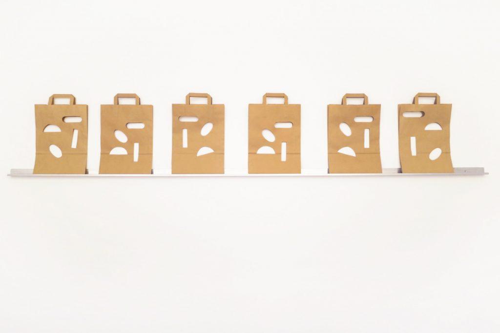 MULTIPLES CAUSES 2015 papier kraft découpé sous enveloppe 37 x 27,2 cm 30 exemplaires numérotés et signés