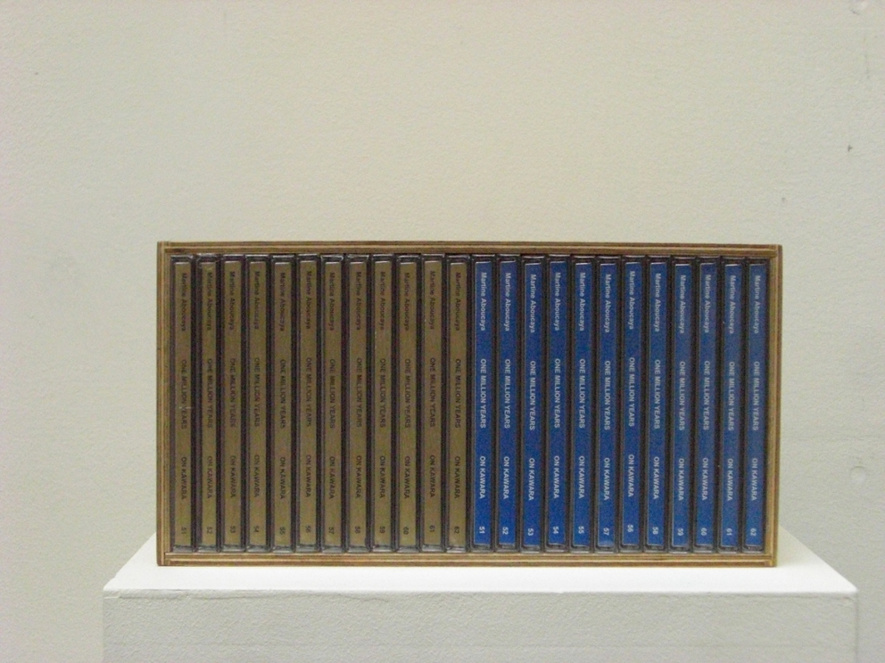 One Million Years (past and future) #51-62, 24 CD audio sous coffret en bois