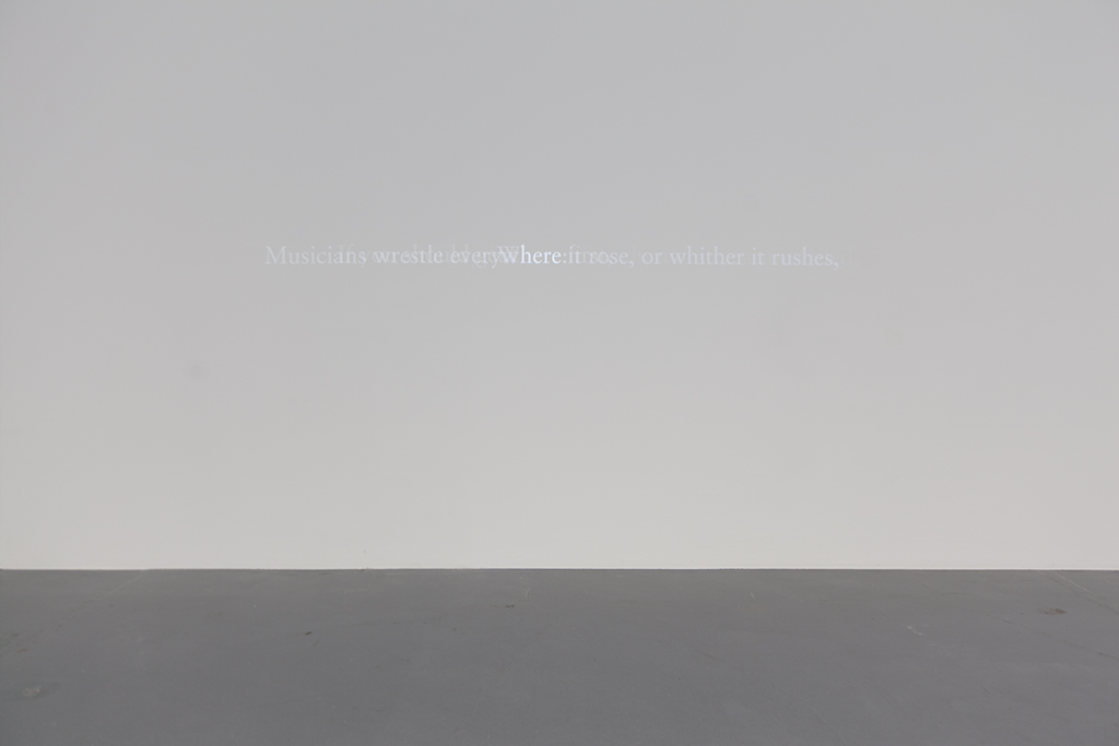 HERE / EMILY DICKINSON 2015 b/w animation, no sound in loop, unique work