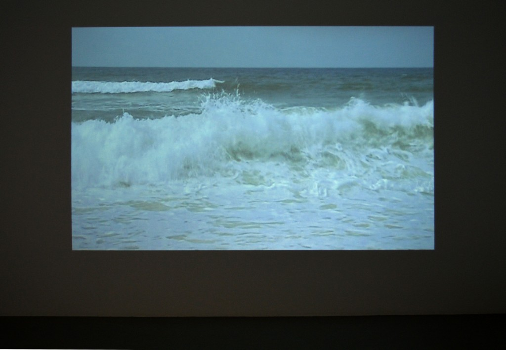 W (THE WAVES/THE YEARS), 2002, video couleur, son, durée : 4′ 25″
