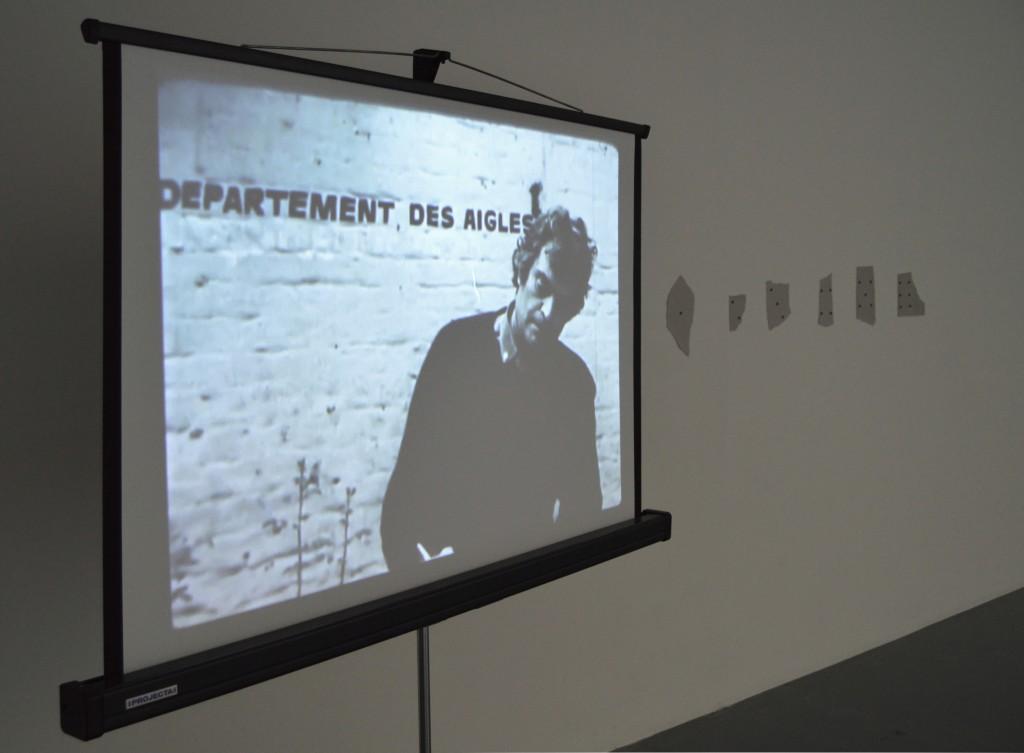 LA PLUIE (PROJET POUR UN TEXTE), 1969, Cinématographie N/B, muet, durée : 2′ 37″, Donation Yvon Lambert pour l'Etat, CNAP, dépôt à la Collection Yvon Lambert en Avignon