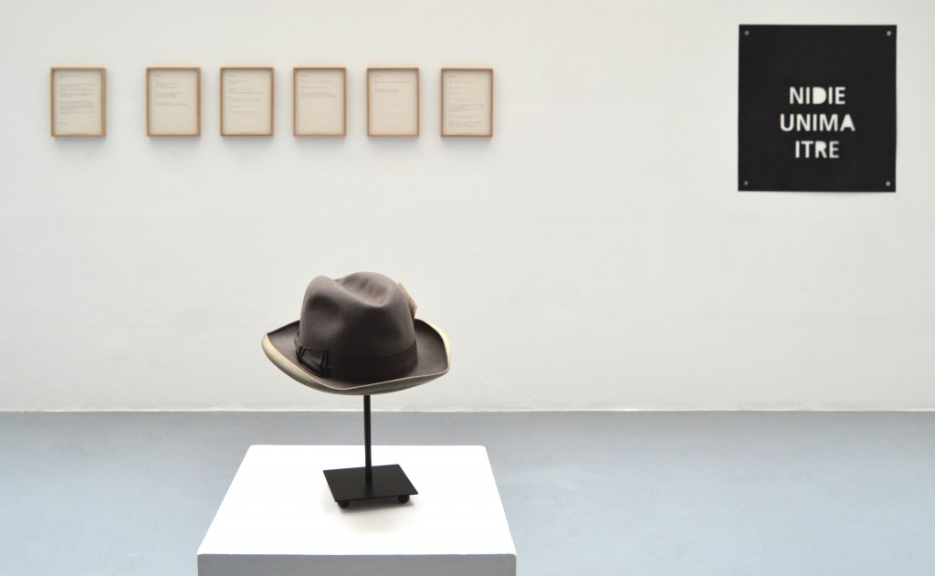Breath Piece 3 Part 2, 2016, Ni Dieu Ni Maitre, 2013, and, Hat With Photo