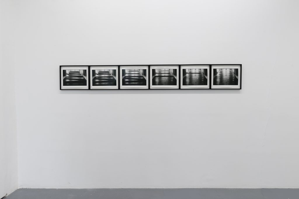 1972, set of six gelatin silver prints, framed, 27,6 x 35,3 cm each, edition #5/15, photo François Doury