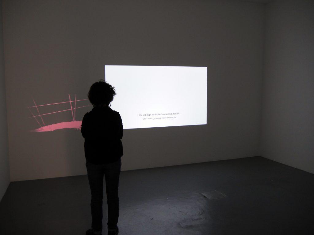 diptyque video couleur, son durée : 9′ 38» édition de 5 exemplaires