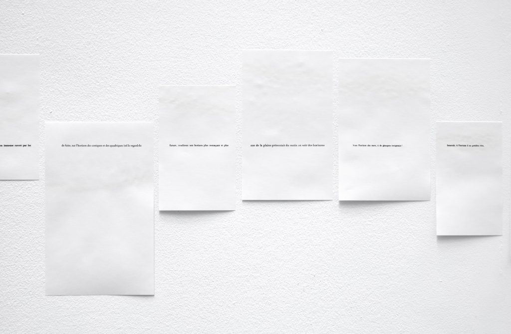 2017 – 2018, inkjet on paper, 360 pages, dimensions variable, unique work