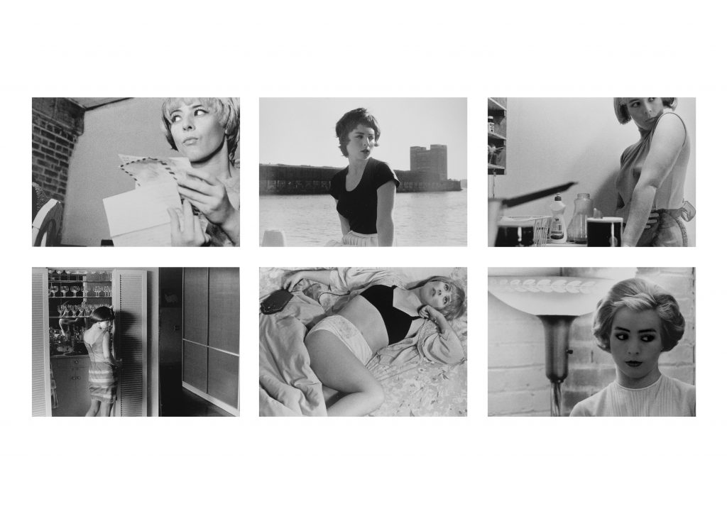 2014, 6 digital photographs created from the series 'Untitled Film Stills' by Cindy Sherman, 20 x 27 cm, edition of 5   + 2AP