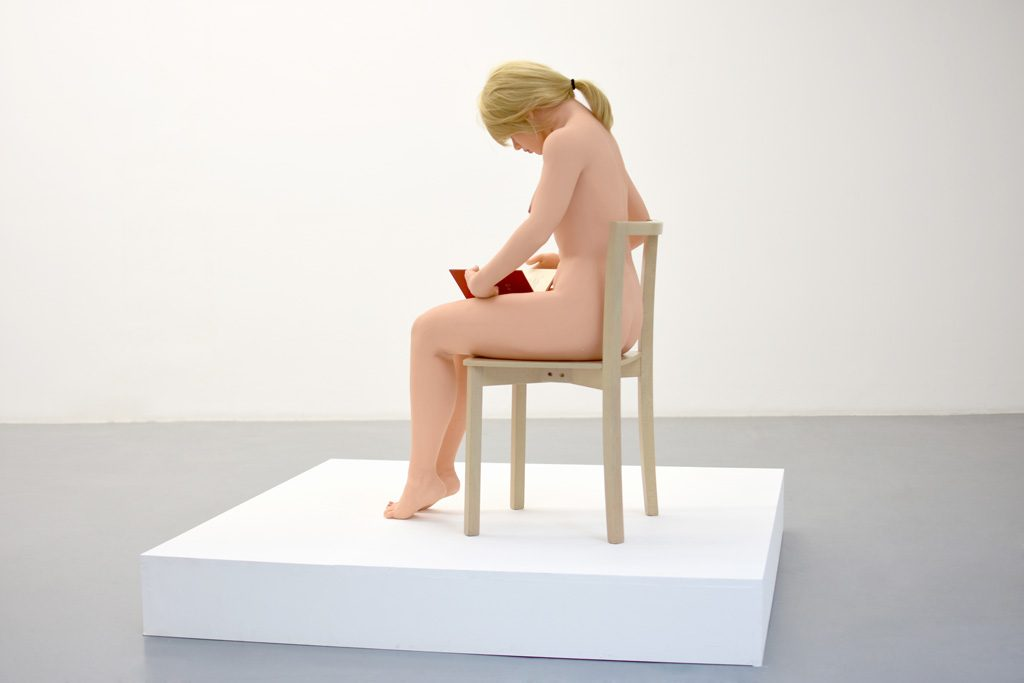 SEX DOLL READING, silicone, 1,60 high