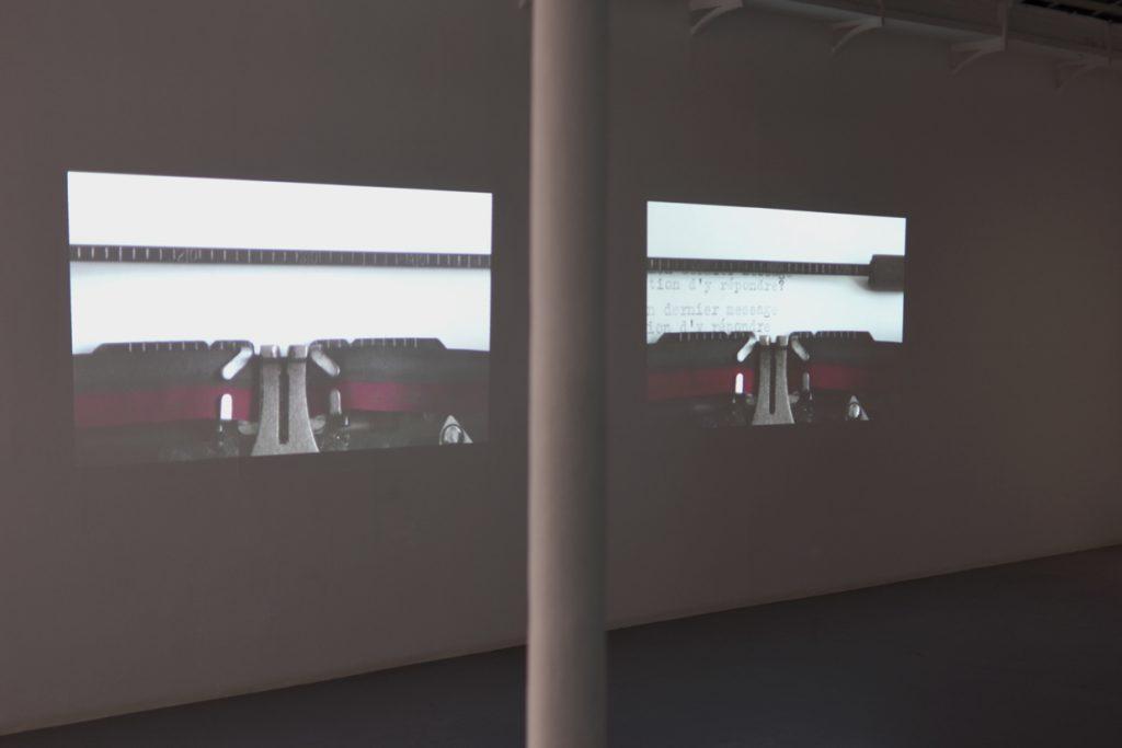 CORRESPONDANCES, 2019, diptych, HD colour video, sound, 1mn 44 s, edition of 2 unique pieces