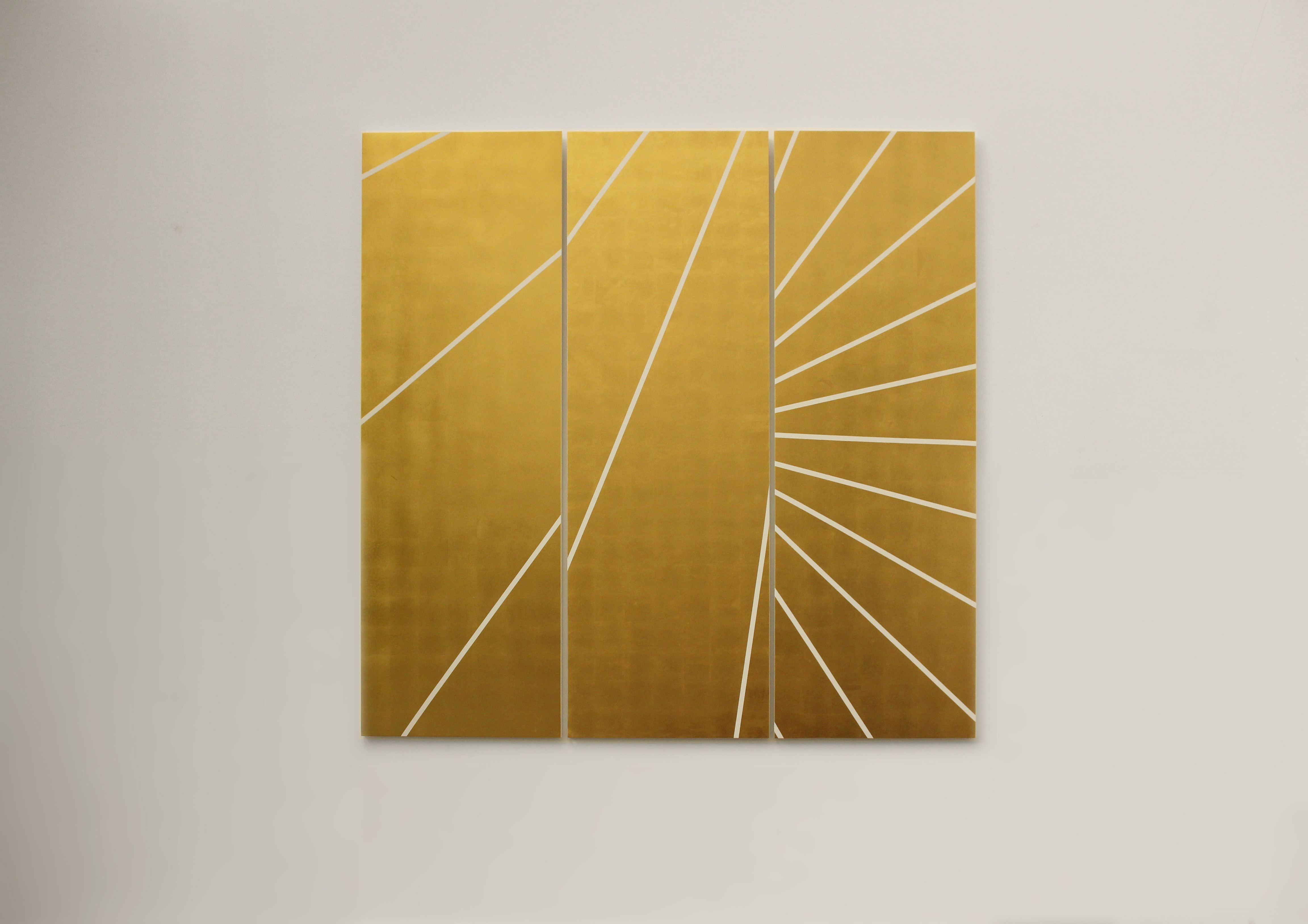 2019,  gold leaf on wood,  150×153 cm,  unique work