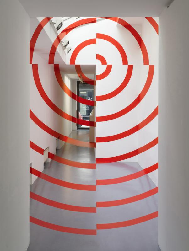 COULOIR PAS-SAGE, 2020  dimensions variable, unique work photo : André Morin